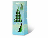 Dreaming of a Wine Christmas Wine Bottle Gift Bag-17936