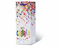 Let's Celebrate Wine Bottle Gift Bag-17962