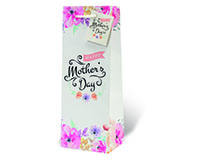 Happy Mother's Day Wine Bottle Gift Bag-17986