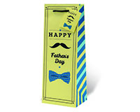 Happy Father's Day Wine Bottle Gift Bag-17987