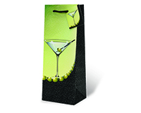 Martini Wine Bottle Gift Bag-18006