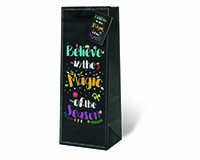 Believe in the Magic Wine Bottle Gift Bag-18012