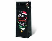 Define Good Wine Bottle Gift Bag-18013