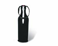 Neoprene Insulated Wine Tote - Black-22582