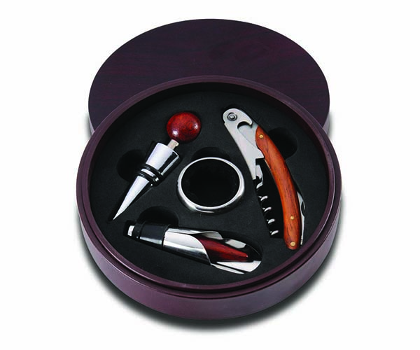Round Box with 4 Tools