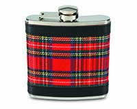 6 OZ Flask - Plaid-26478