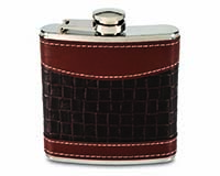 6 OZ Flask - Mixed Weave-26480