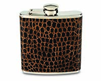 6 OZ Flask - Dark Brown-26483
