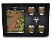 Flask Gift Set - Camouflage-26645