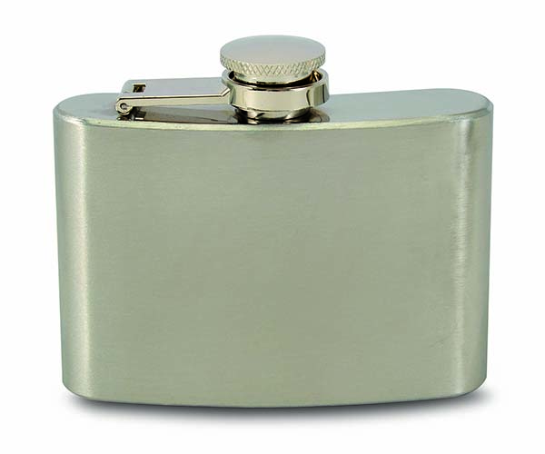 4 OZ Flask - Stainless Steel Flask
