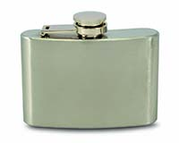 4 OZ Flask - Stainless-26647