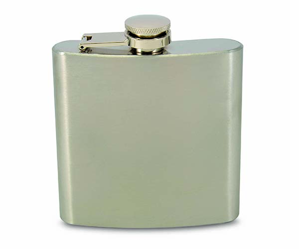 6 OZ Flask - Stainless