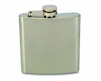 6 OZ Flask - Stainless-26648