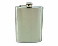 Big Swig - 8 oz. Stainless Steel Flask with Funnel-26649