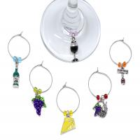 Wine Charms - Wine & Cheese-26657