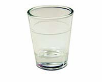 Lined Shot Glass - 1.5oz.-26673