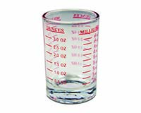 Measured Shot Glass - 4oz.-26675