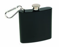 6 OZ Flask - Black-26705