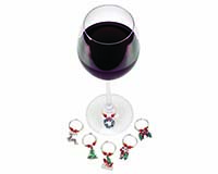 Wine Charms - Santa Theme 26737