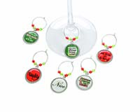 Wine Charms - Holiday Sayings 26803