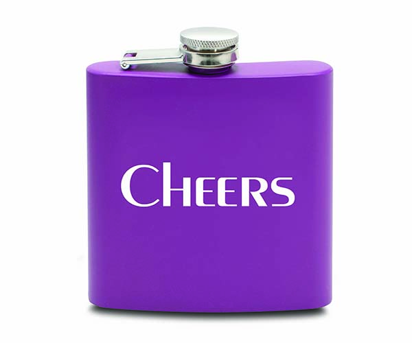 6 OZ Flask - Cheers