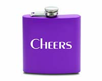 6 OZ Flask - Cheers-26816