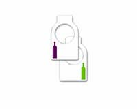 Cellar Tags Wine Bottle Gift Bag 26837