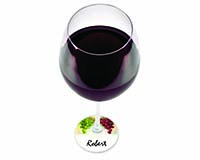 Wine Glass Tags 26838