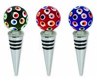 Bottle Stopper - Glass Sphere-26931