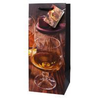 Liquor Bag - Smoking Whiskey Half Gallon-27023