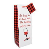 Wine Bag - As Long As We Have Wine-27033