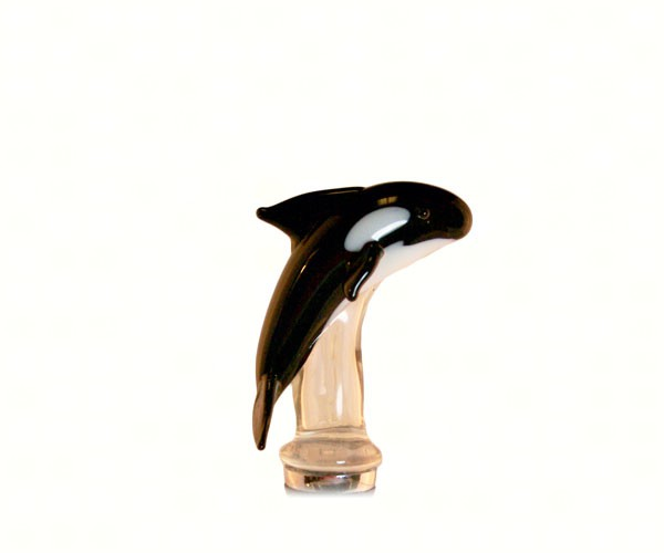 Orka Glass Wine Bottle Stopper 14108'