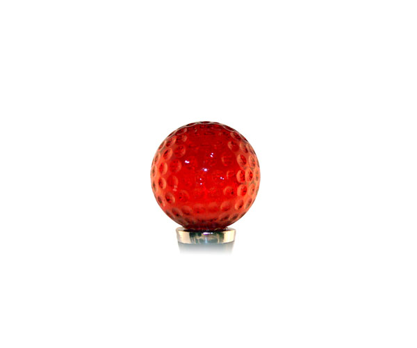 Glass Wbs Golf ball -Red 14403