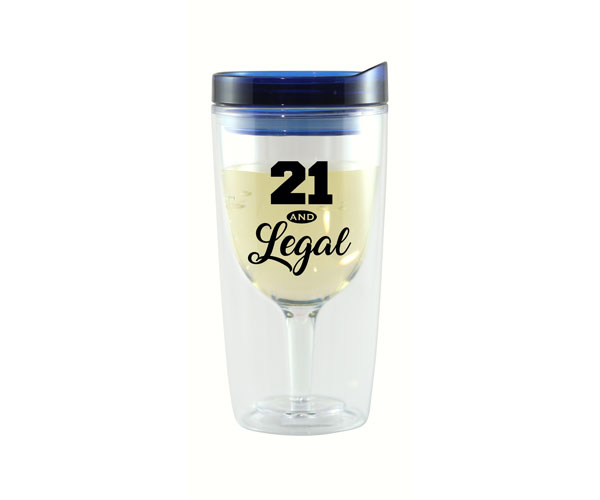 21 & Legal Vingo Wine Tumbler AC1000-A2