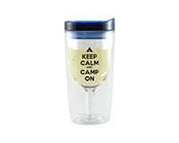 Camp On Vingo Wine Tumbler, Blue AC1000-CC3