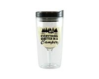 Better Camper Vingo Wine Tumbler, Black AC1000-CC4