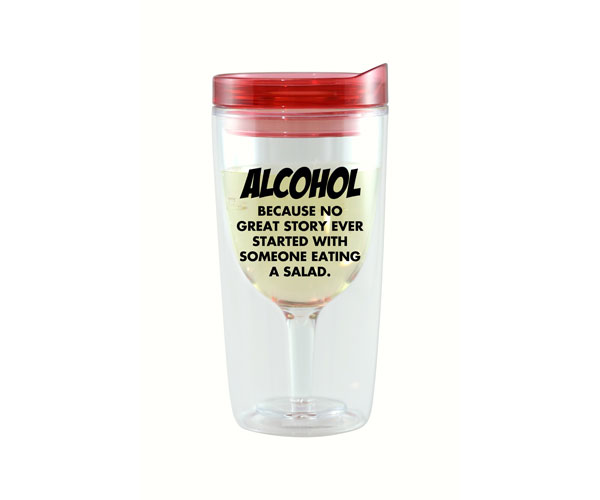 Because No Great Story Wine Tumbler AC1000-D4