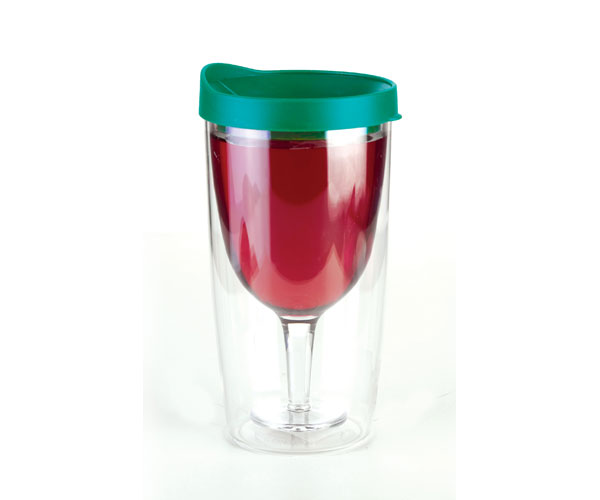 Vingo Wine to Go Tumbler Green AC1002'