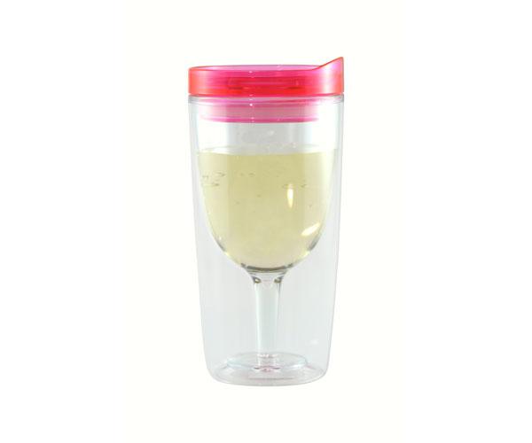 Vingo Wine to Go Tumbler Pink