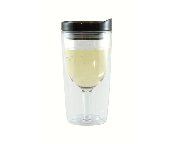 Vingo Wine to Go Tumbler Black AC1009'