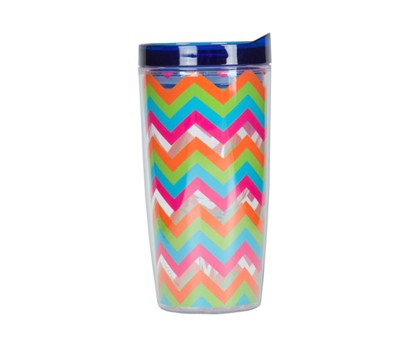 Vingo 10Oz Double-Walled Wine Tumbler - Multi-Colored AC1103