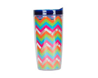 Vingo 10Oz Double-Walled Wine Tumbler - Multi-Colored-AC1103