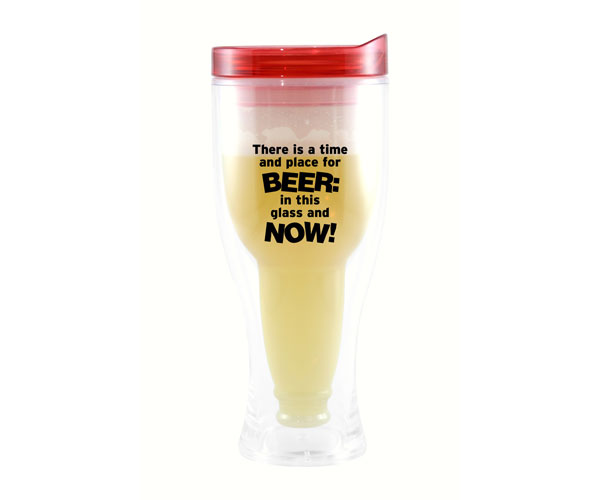 There is a Time & Place Beer Buddy Beer Tumbler