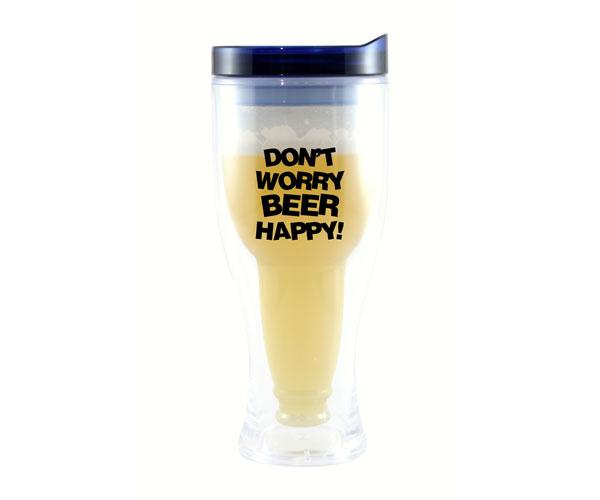 Don't Worry Beer Happy Beer Buddy Beer Tumbler