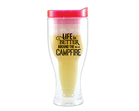 Campfire Beer Buddy Beer Tumbler, Pink AC2000-CC2