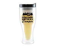 Better Camper Beer Buddy Beer Tumbler, Black-AC2000-CC4