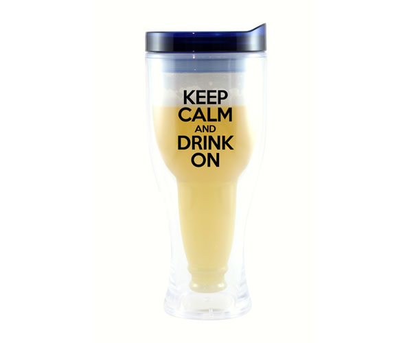 Keep Calm & Drink On Beer Buddy Beer Tumbler AC2000-D3