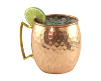 Moscow Mule Copper Mug with Brass Handle 20 oz-AC6001