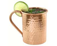 18 oz Moscow Mule Mug Cylinder - dimpled AC6004
