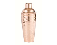 28 oz Shaker Bottle - Hammered SS with copper plating-AC6013